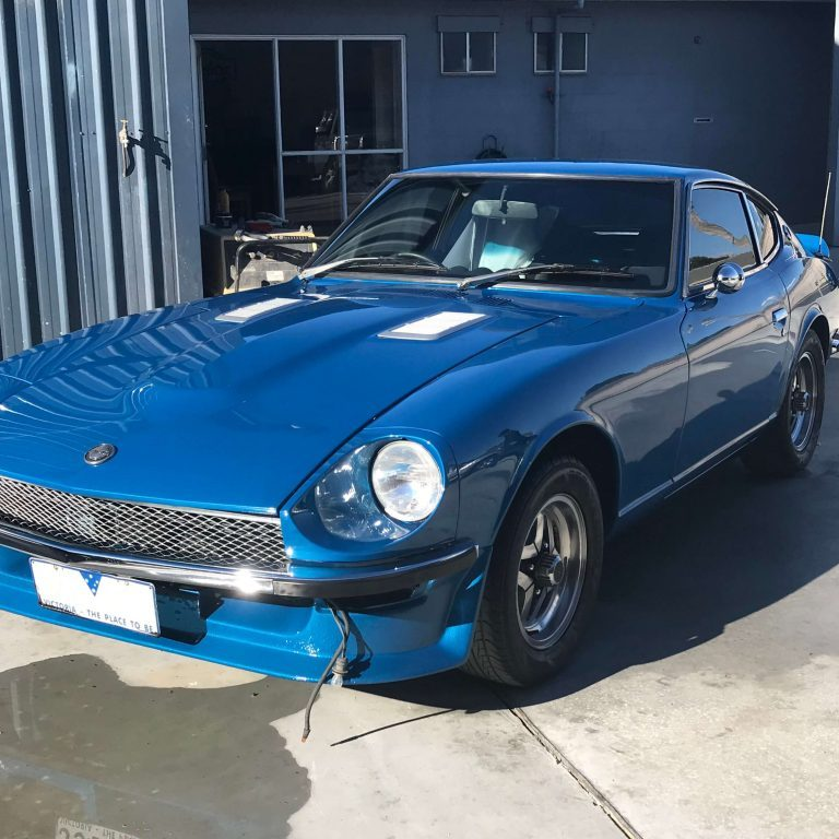 Nissan 240Z after being restored by Dave's Panel Worx